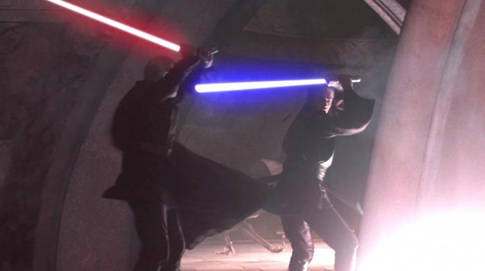 Estilos de lucha sable de luz 20 Shien Djem So Anakin
