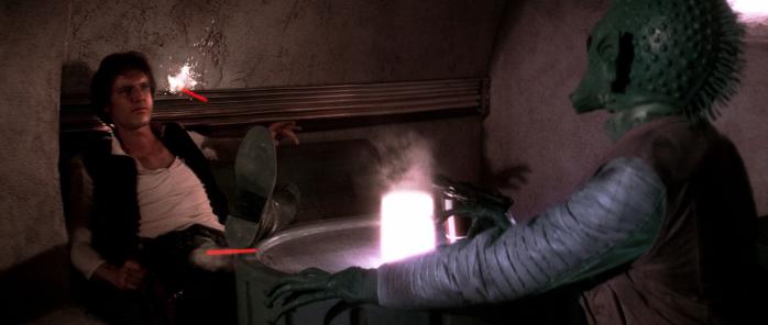George Lucas Han no dispara primero