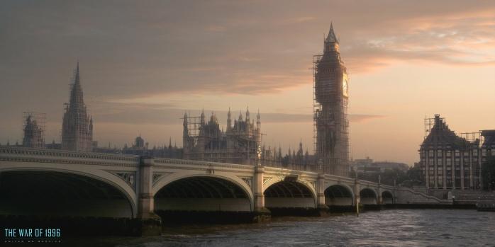 Independence Day Resurgence Reconstrucción de Londres