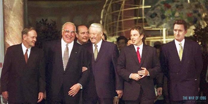 Independence Day Resurgence Reunión de líderes mundiales