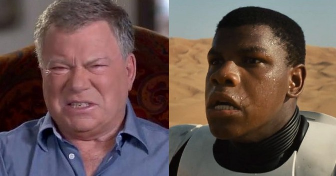 John Boyega William Shatner
