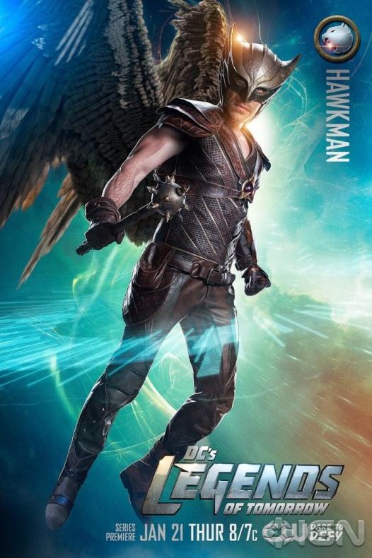 Legends of Tomorrow Hawkman