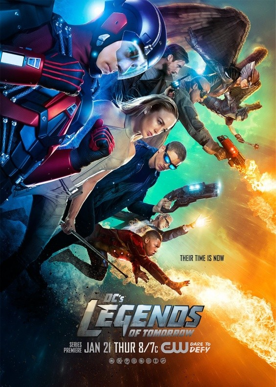 Legends of Tomorrow Nuevo Cartel