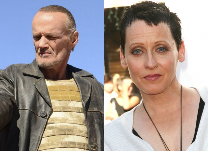 Michael Bowen y Lori Petty
