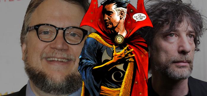 Neil Gaiman - Guillermo Del Toro - Doctor Extraño