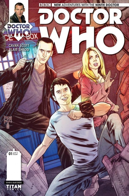 Ninth Doctor Titan Comics 02