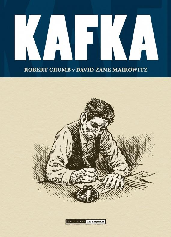 Robert Crumb y Mairowitz Kafka Cubierta