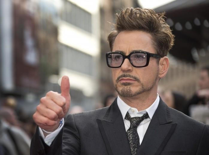 Robert Downey Jr Thumbs UP