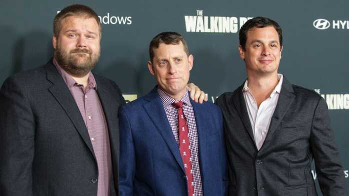 Scott Gimple y Robert Kirkman