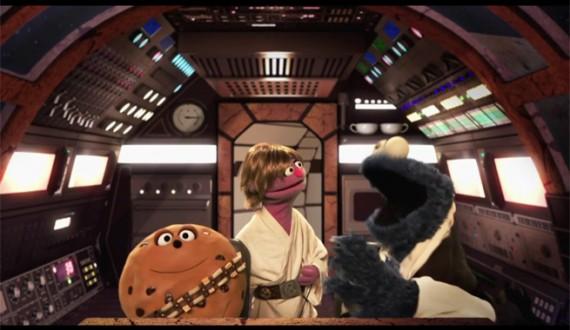 Sesame Street Star Wars