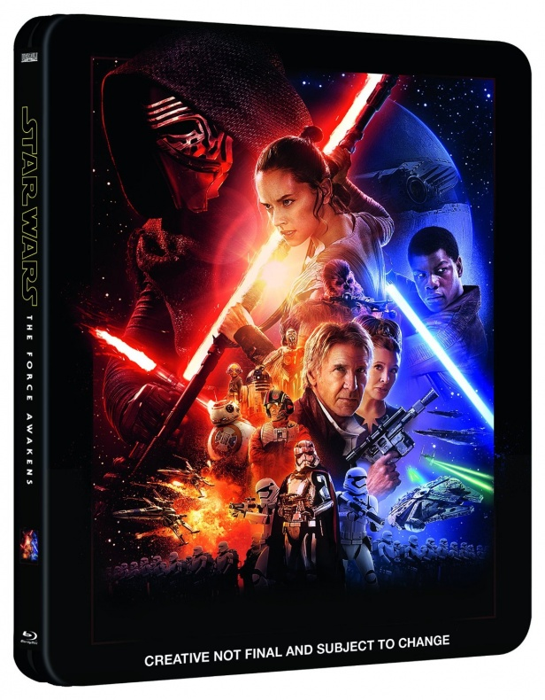 Star Wars VII Blu-Ray