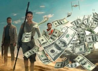 Star Wars VII - billetes