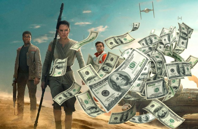 Star Wars VII - billetes