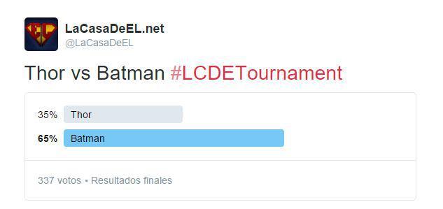 Torneo thor v batman