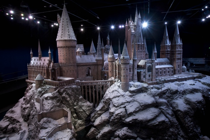 Warner Bros. Studio Tour reveals the stunning Hogwarts castle model covered in snow