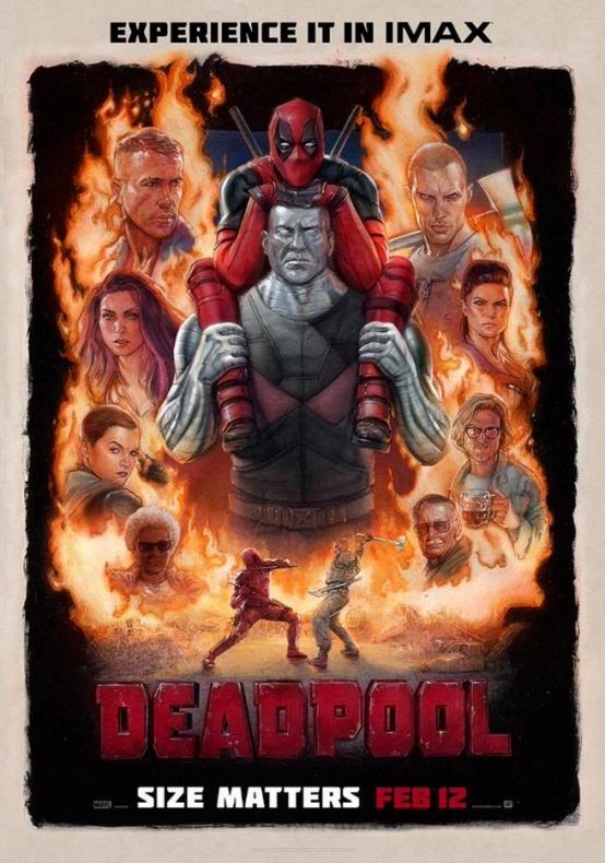 Deadpool - póster IMAX