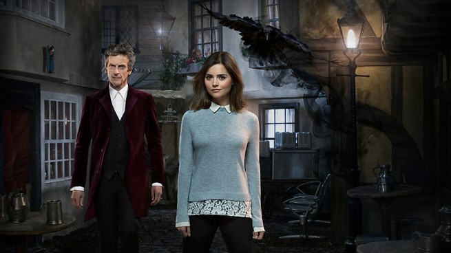 jenna-coleman-peter-capaldi-doctor-who