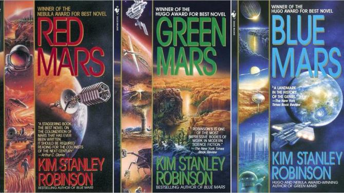 Marte Rojo Trilogía