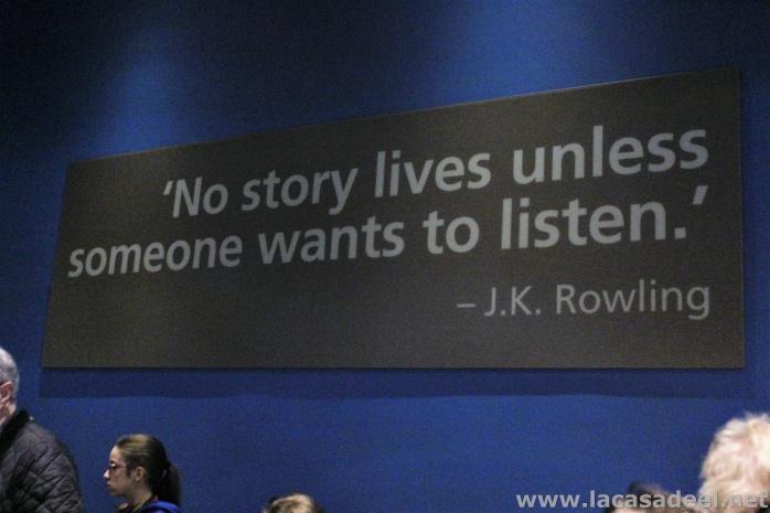 mensaje de J. K. Rowling