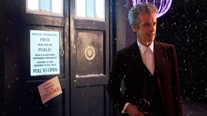 peter capaldi navidad doctor who