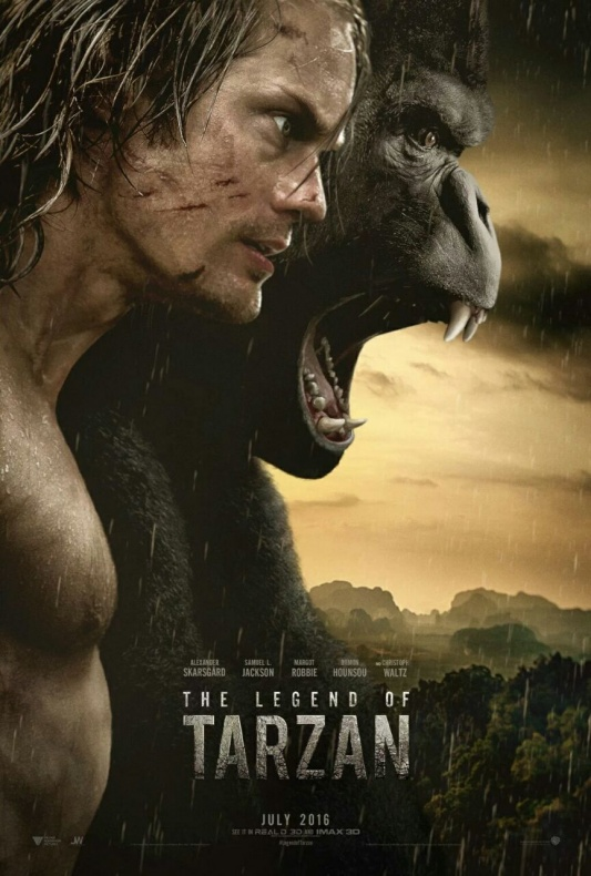 The legend of Tarzan - primer póster