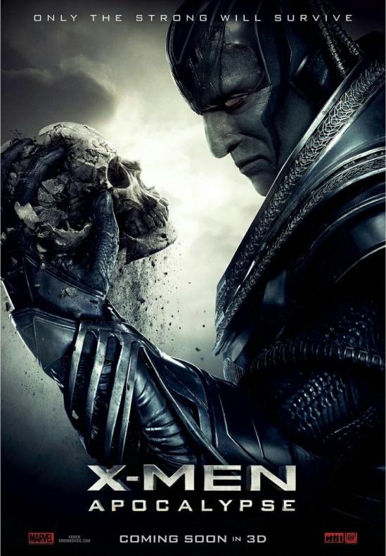 X-Men: Apocalipsis - póster