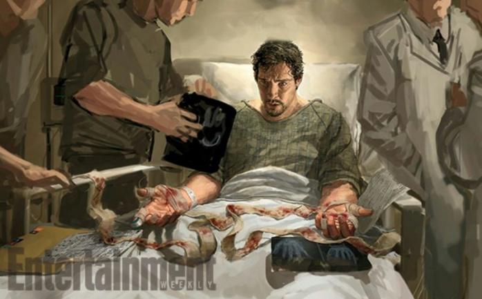 Doctor Extraño - accidente