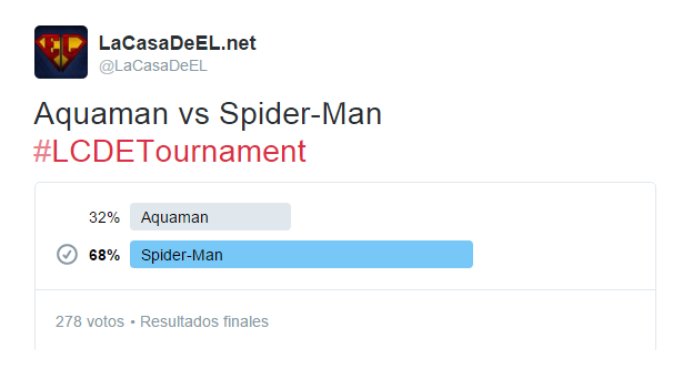torneo aquaman v spiderman