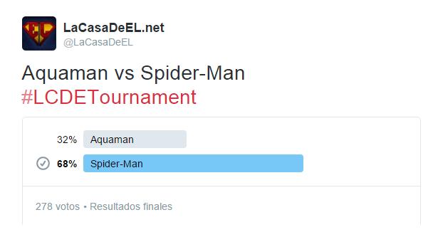 torneo aquaman v spiderman