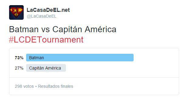 torneo batman v capitan america