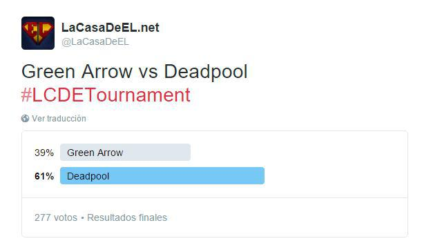 torneo green arrow v deadpool