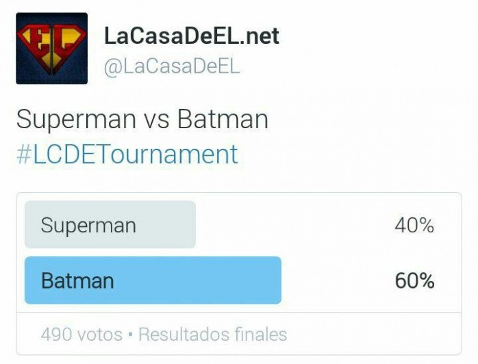 torneo superman v batman