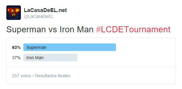 torneo superman v iron man