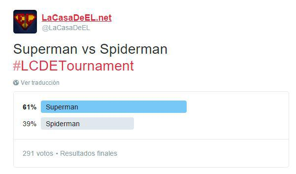 torneo superman v spiderman