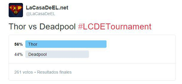 torneo thor v deadpool