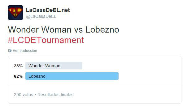 torneo wonder woman v lobezno