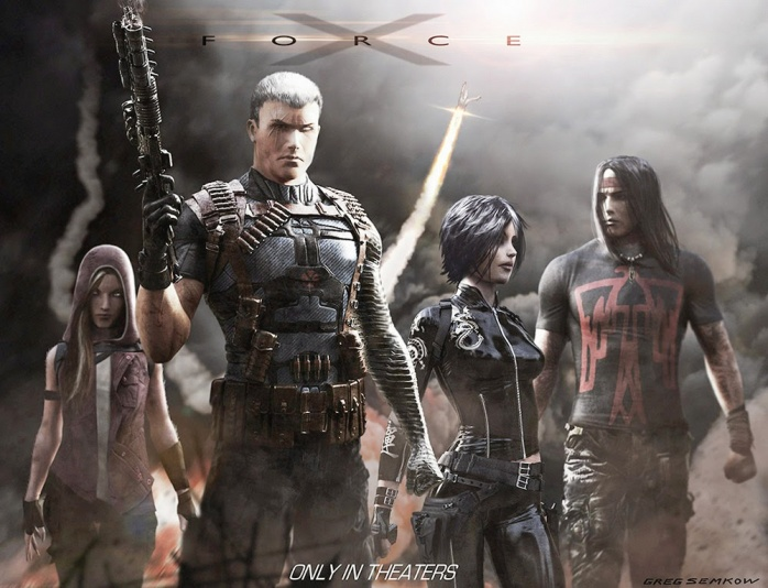 X-Force Arte Conceptual