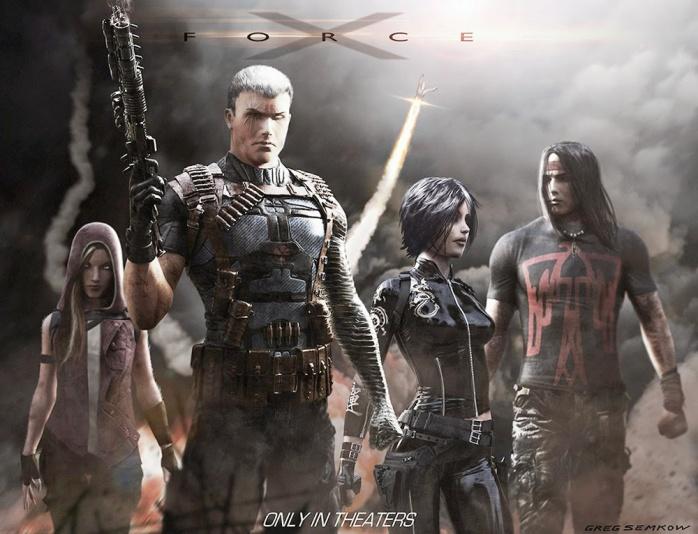 X-Force Arte Conceptual