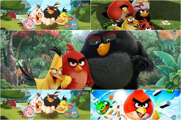 Angry Birds escenas