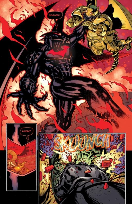 Batman lo da todo por recuperar a su hijo