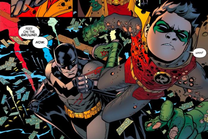 Batman Robin Portada
