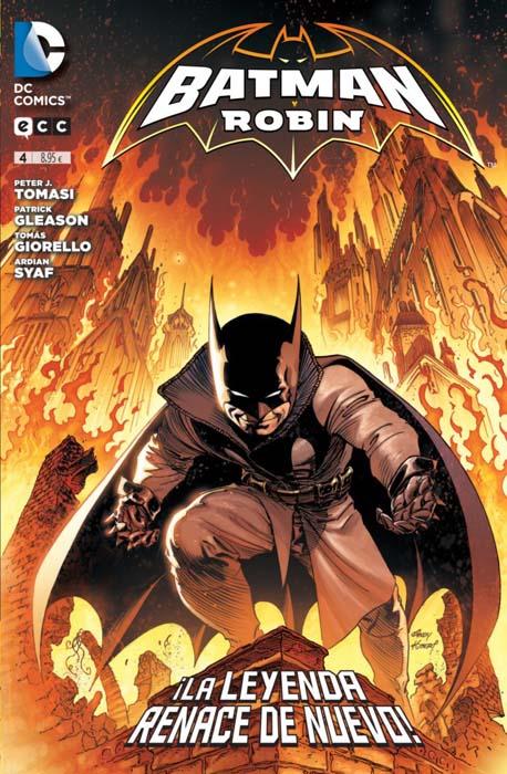 Damian reclama el manto del murciélago