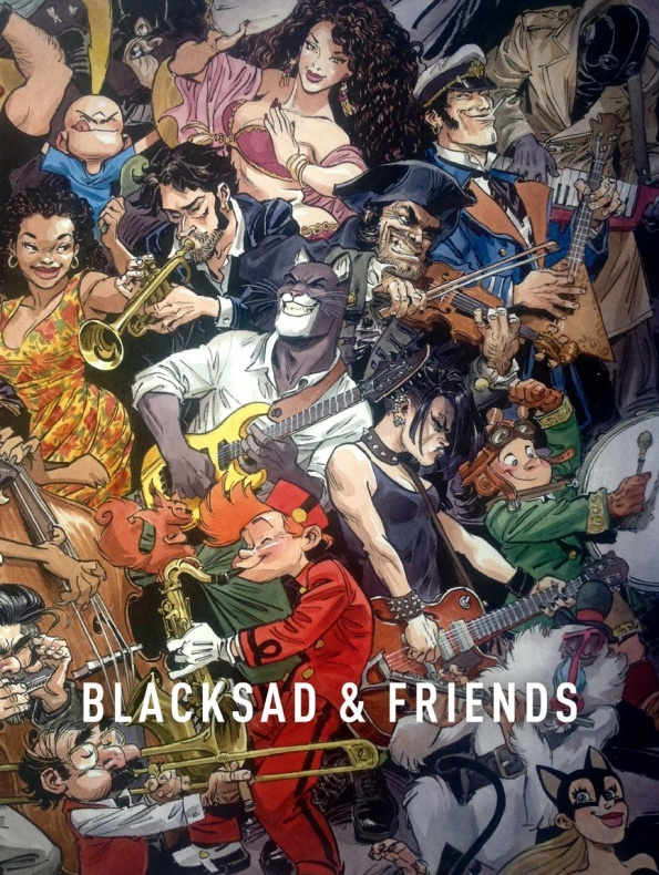Blacksad and Friends cover