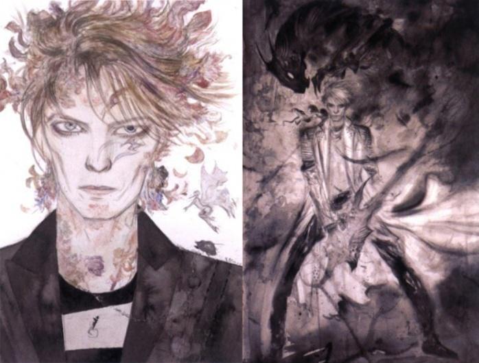 Bowie Gaiman White Duke