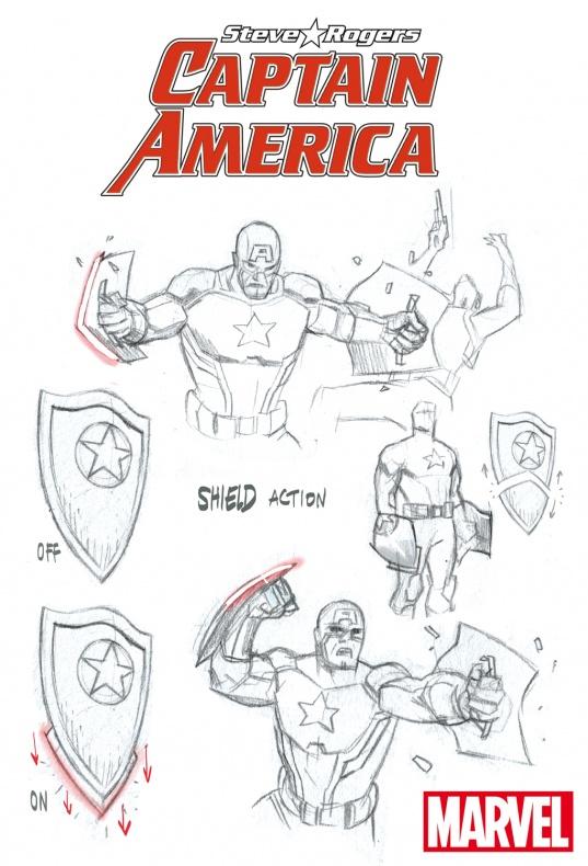 Capitan America Steve Rogers 2016 b