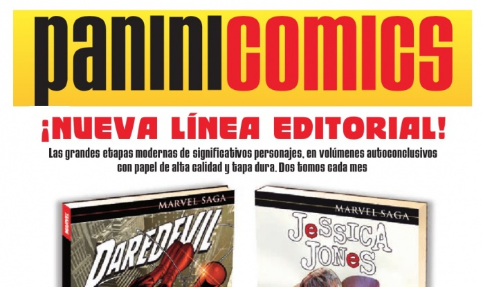 Novedades de Panini Cómics para febrero y marzo de 2016