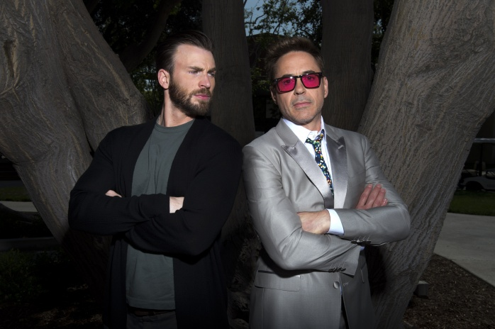 Chris Evans Robert Downey Jr.