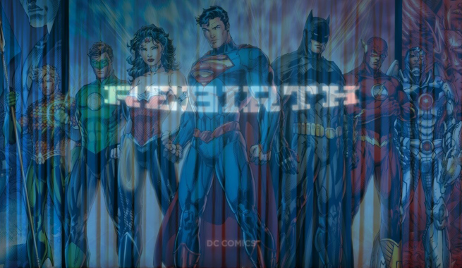 DC Comics Rebirth Destacado
