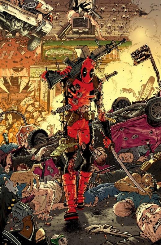 Deadpool 7 Tony Moore