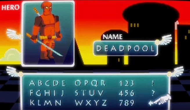 Deadpool JRPG